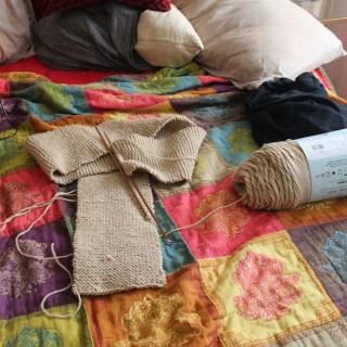 Bed Spread DIY In Progress
