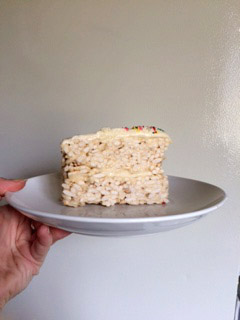 Vegan Rice Crispy Cake