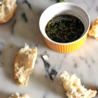 Way Too Simple Balsamic Vinegar Oil  Dip