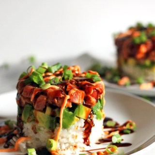 Spicy Seared Tuna Tower