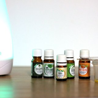 Essential Oil Blend for Energy
