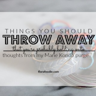 things you should throw away