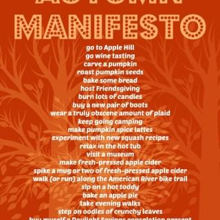 Next Up | Autumn Manifesto