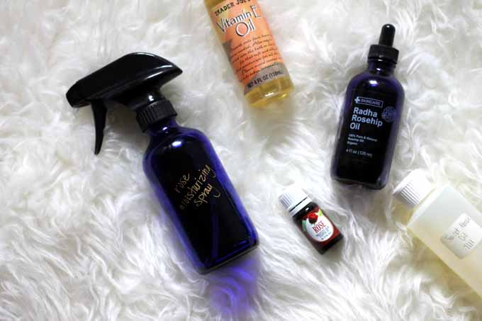 moisturizing shower spray