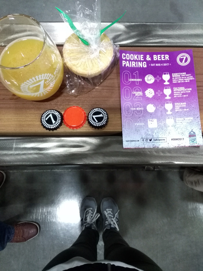 track 7 beer cookie pairings