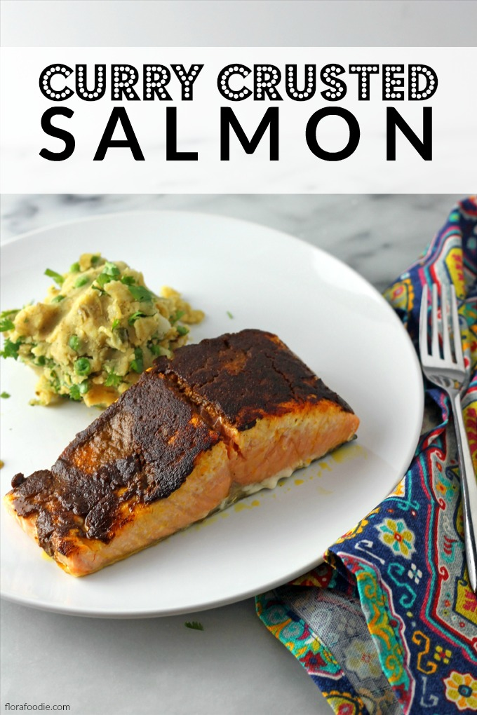Curry Crusted Salmon