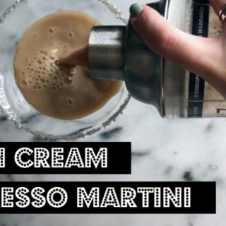 Irish Cream Espresso Martini {VIDEO}