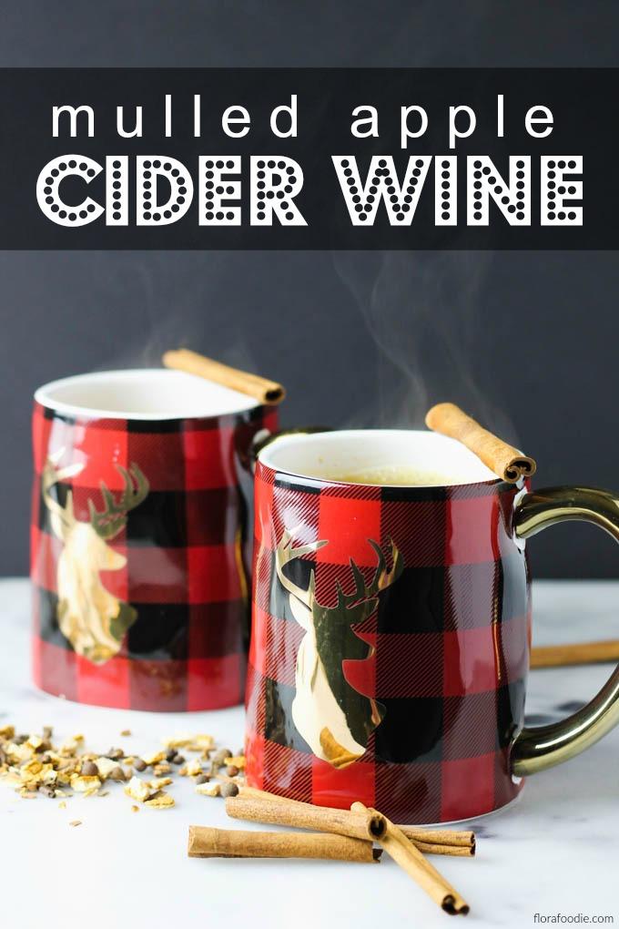 Mulled Apple Cider Wine