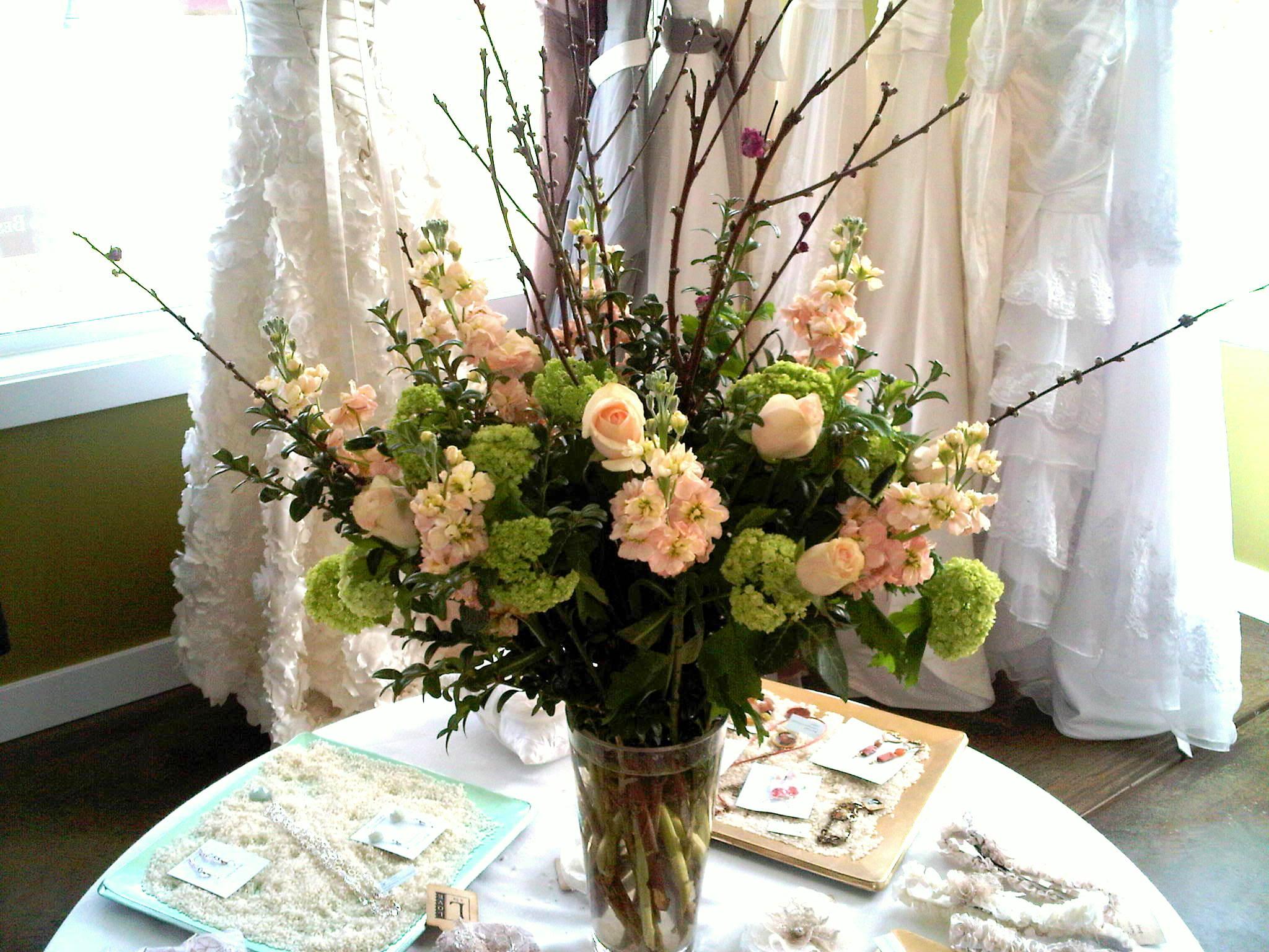 Custom arrangements floral sunshine for Floral arrangements with branches