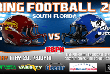 LIVE SPRING GAME: South Dade vs. Coconut Creek – 7:00 PM TONIGHT