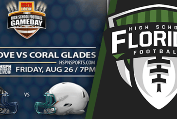 HSPN LIVE: High School Football Game Day – 2016 Week 1 – Inlet Grove vs. Coral Glades