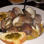 Clams scampi at Off the Hook