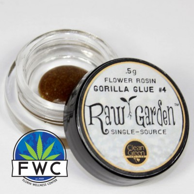 Raw Garden Gorilla Glue #4 Rosin
