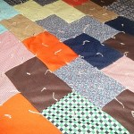 Retro Tied Polyester Quilt