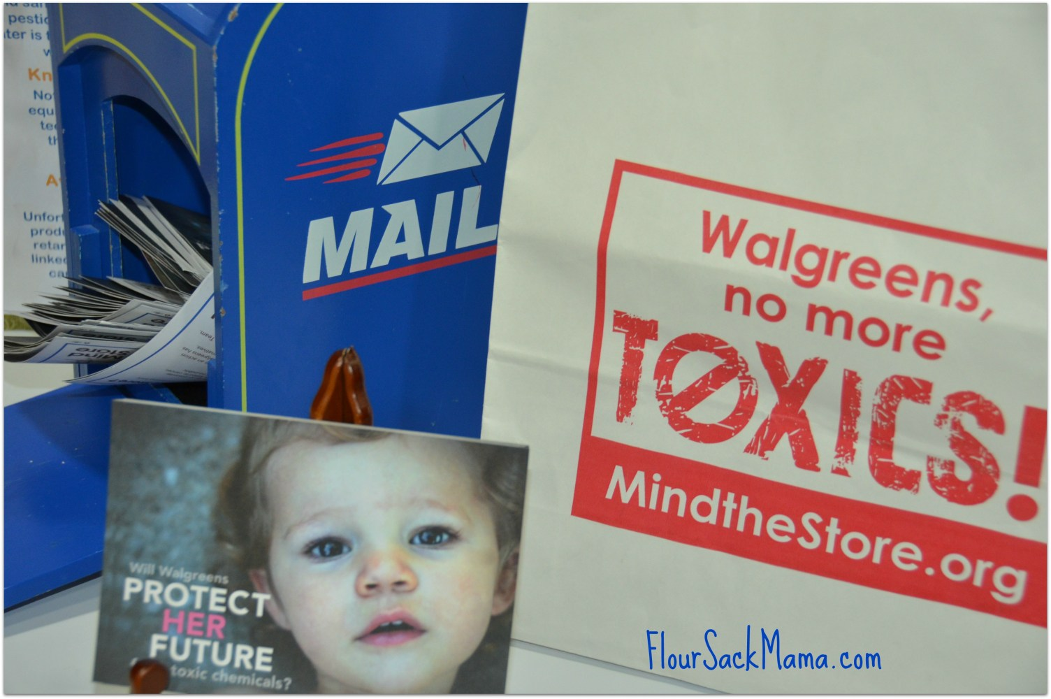 Mind the Store postcards to Walgreens