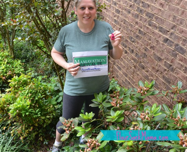Anne Brock from Flour Sack Mama blog finished Mamavation 5K in May 2014