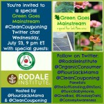 You're Invited to a Green Goes Mainstream #CleanCouponing Twitter Chat July 23
