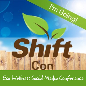 Shift Con eco wellness media conference logo
