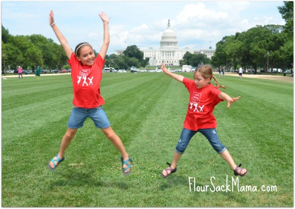 Kids Clean Air Force at US Capitol