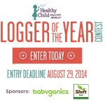 Time to Enter Healthy Child's Blogger of the Year Contest!  Twitter Party Tonight!