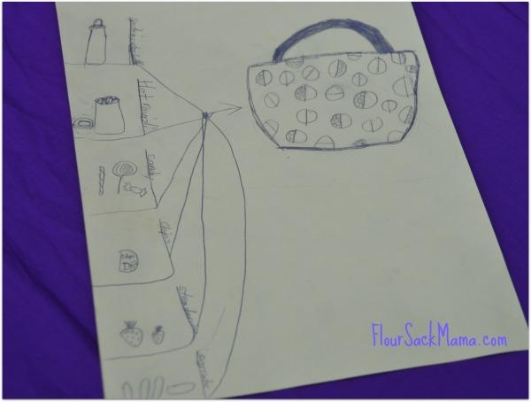 Kid Lunch Drawing FSM