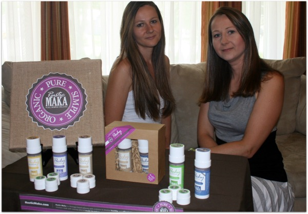 Rustic Maka Sisters who founded natural deodorant co.