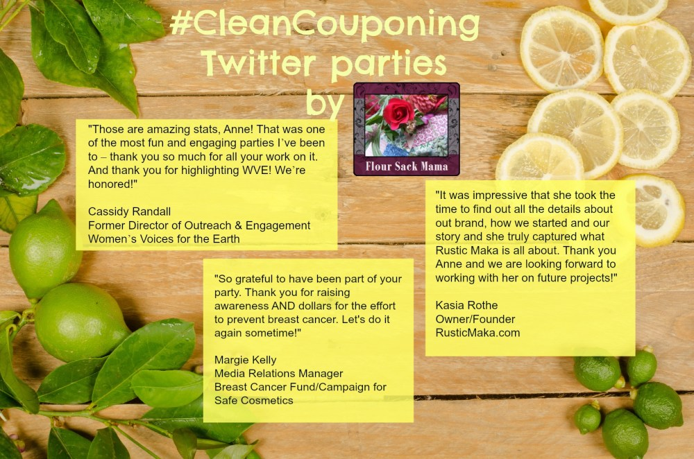 Testimonials Clean Couponing parties