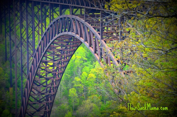 West Virginia Scenic Bridge
