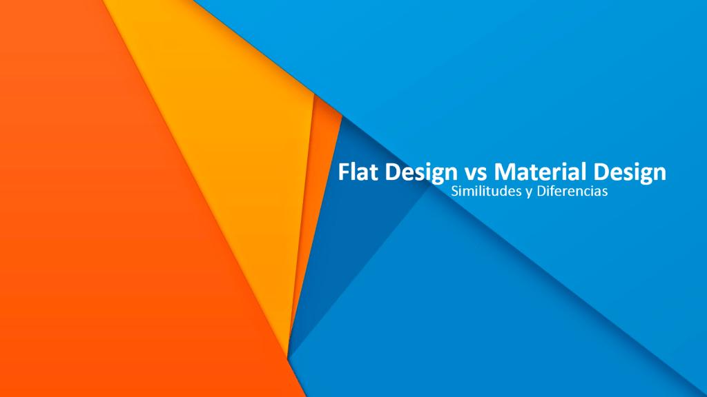 flat_vs_material