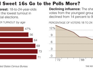 Young voter turnout
