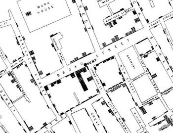 John Snow Cholera Map