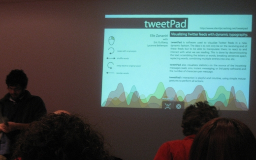 TweetPad presentation