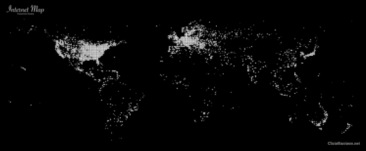 Connection Density Map