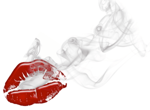 Smoking lips