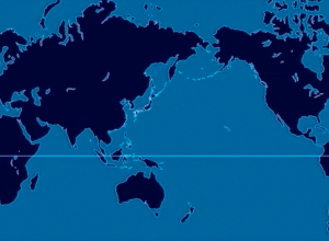 Nuclear explosions animated map