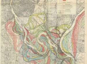 Evolution of the Mississippi River