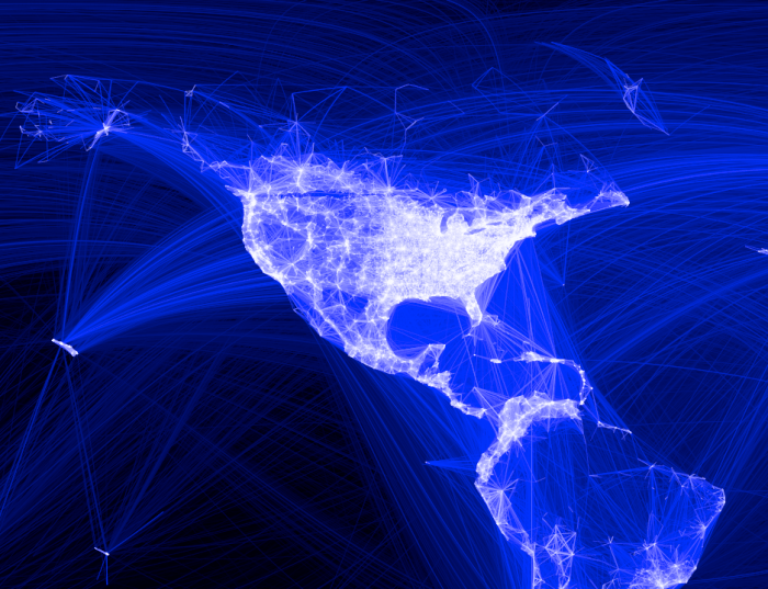 United States Facebook connections