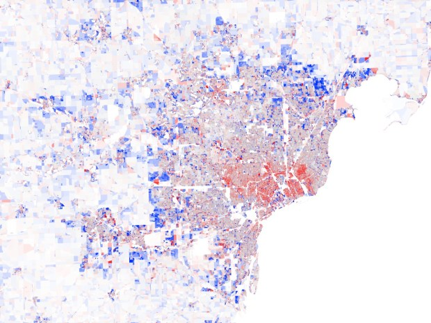 Population Change in Detroit