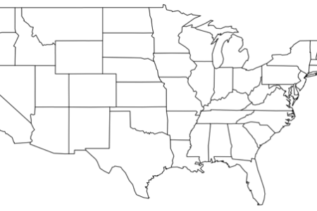 blank map of the united states that you can fill in