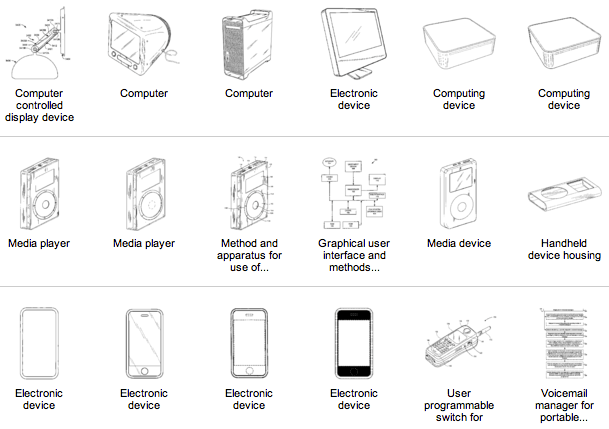 Steve Jobs Patents