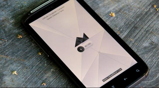 Antimap phone app