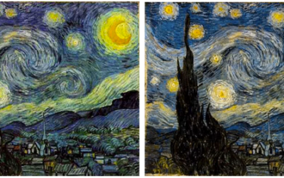 Starry night blind