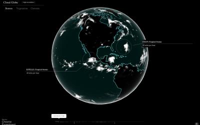 Global cloud coverage