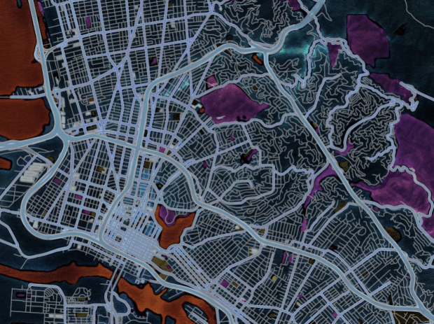 Map Stack example