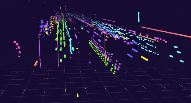 Music visualization from George and Jonathan