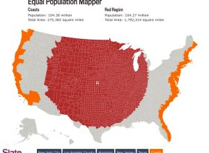 Equal population mapper