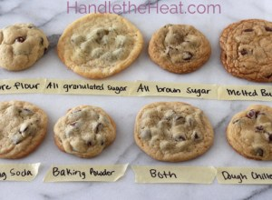 Chocolate chip cookie guide
