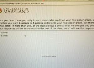 Student's Dilemma