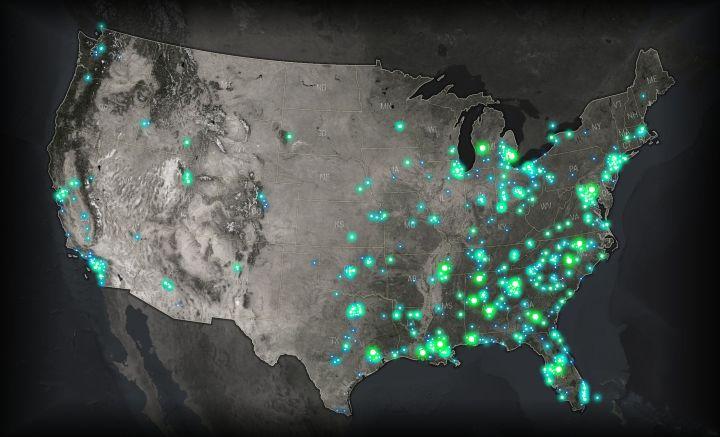 Firefly maps