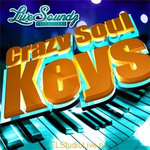 Пакет сэмплов Live Soundz Crazy Soul Keys - для FL Studio